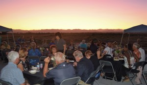 dinner guests at sunset 2